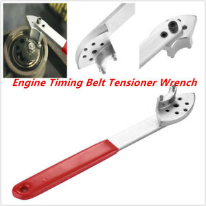 Car Engine Timing Belt Tension Pulley Wrench Hand Tool Fit For Vag Vw Audi Skoda