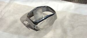 Original Recycled 1962 Cadillac Lh Driver Rear Bumper End Section Usa Chrome