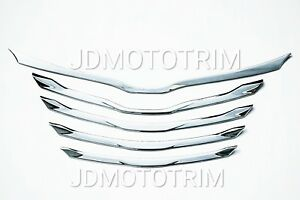 Toyota Sienna 2011 2017 Front Grill Abs Chrome Cover Trim Garnish