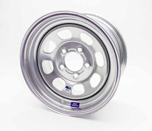 Bart Wheels 535 58502 Imca Competition 15x8 In 5x5 00 Bc 2 Bs Silver Wheel