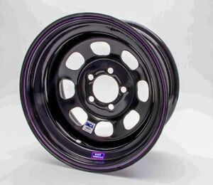 Bart Wheels 531 58505 Imca Competition 15x8 In 5x5 00 Bc 5 Bs Black Wheel