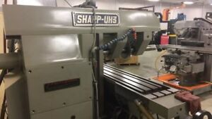 2008 Sharp Uh 3 Horizontal Milling Machine 3103