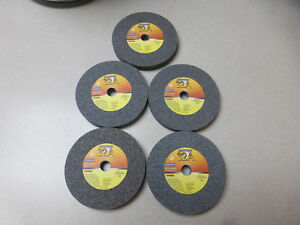 Norton Grinding Wheel size 4 X 1 2 X1 2 66243529845 box Of 5 32a46 kvb