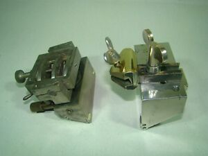 Rudolf Jung Heidelberg Microtome Sample And Knife Holders