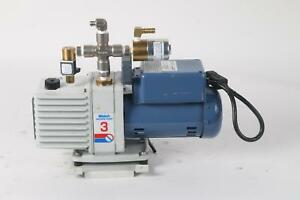 Welch 8910 Vacuum Pump W Bluffton 1603007402 Electric Motor