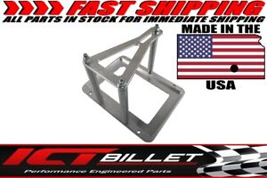 Universal Billet Battery Tray Hold Down Trunk Relocation Box Optima Race Racing