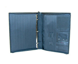 Tumi Delta Single Handle Nappa Leather Zip around Letter Size Planer 3 ring Bind