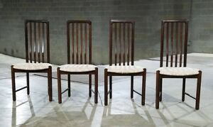Set Of 4 Boltinge Danish Rosewood Dining Chairs Ask For A Shipping Quote