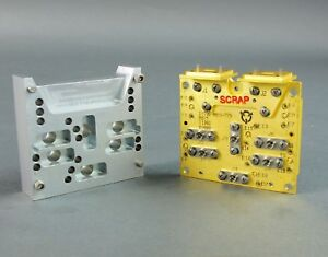 Electronics Microwave High Frequency Device Gold Recpt Connection Waveguide