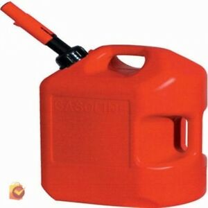 Gasoline Container Can 5 Gallon Gas Storage Red Auto Shutoff Safety Car Boat New