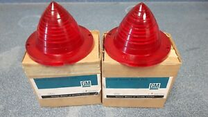 1960 Chevrolet Impala Belair Biscayne Nos Taillights Tail Lights
