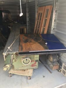 Martin Sliding Table Saw Freight Shipping Possible