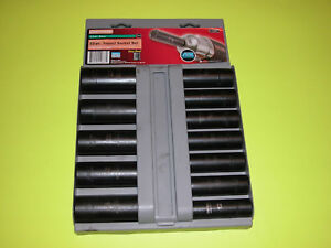 Craftsman Usa 1 2 Drive Metric Deep Impact Socket Set 15887 Made In Usa
