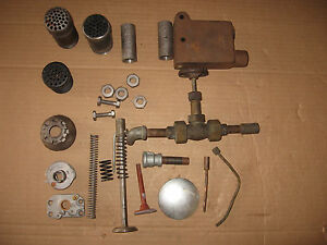 Parts Lot Hit Miss Engine Parts Witte Fairbanks Morse Mufflers Screws Etc