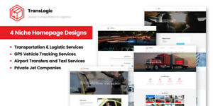 Transportation Logistic Company Website Template By Motocms Website Builder