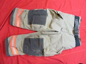 2008 Globe G xtreme Firefighter Bunker Turnout Pants 42 X 28 Thermal Liner