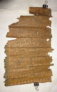 Japan Edo Period Buddhist Makuri Scroll 3 Set Priest Monk Amida Triad Buddha God