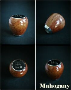 Datsun 240z 260z 280z 510 Shift Knob 5 Speed Mahogany