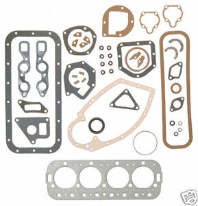 Farmall Ihc Model H Tractor Engine Overhaul Gasket Set C152 Free Shipping