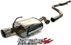 Tanabe Medalion Touring Catback Exhaust For 92 95 Honda Civic Eg Coupe