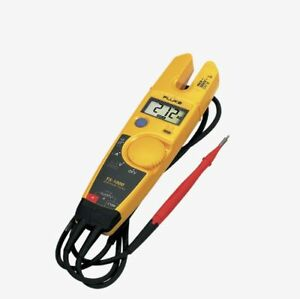 Fluke T5 1000 Voltage Current Electrical Voltage Continuity Current Clamp Meter