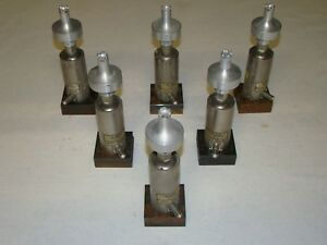 Lot Of 6 Dukane Cv232 Ultrasonic Welder Booster Assembly 587