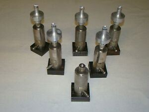 Lot Of 6 Dukane Cv232 Ultrasonic Welder Booster Assembly 586