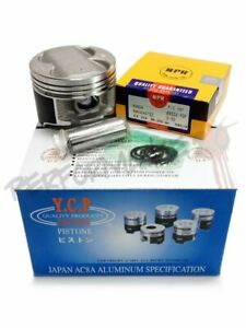 Custom Ycp B20 84 5mm High Compression Pistons With Npr Rings B20b B20z Crv