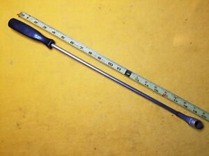 Snap On Tools Ss483 1 2 12 Point Boxed Long Screwdriver Handle Specialty Wrench
