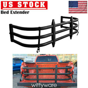 Strong Car Truck Bed Extender Expander Aluminum Alloy Pickup Holder Organizer Us