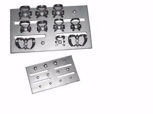 Dental Endodontics Rubber Dam Clamp Organizing Board