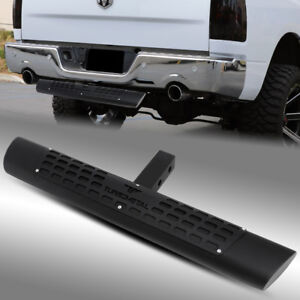 30 5 Oval Black Trailer Towing Hitch Drop Step Bar For Class Iii 2 Receiver