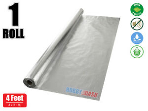 Hobby Dash 125 Sq Ft 4x31ft Radiant Foil Barrier Reflective Insulation 1 Roll