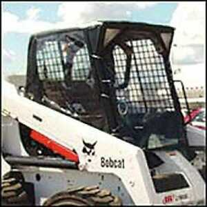 All Weather Enclosure Skid Steer Loaders 553 751 753 763 773 863 873 Compatible