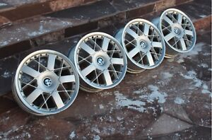 Rare Bbs Rt162 Bmw Style 77 18inch 8j 2piece split Wheels 5x120 Bbs Rs Gt Lm