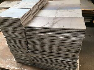 1 2 500 Hro Steel Sheet Plate 4 Pieces Set Custom Made