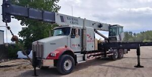 National 18103 Crane 2007 National 1800 40 Ton Truck Crane On Kenworth Chas