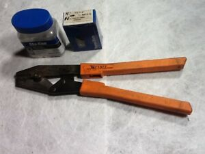 Sta kon Wt1377 Ratchet Crimper 26 To 10 Awg W T b Nw14 10 Nw10 10 Terminals