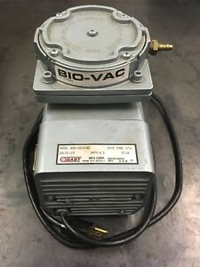 Gast Doa v218 aa Bio vac Oilless Diaphragm Vacuum Pump 1 4 Npt Made In Usa