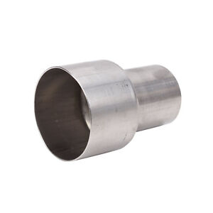 2 Id To 3 Od Exhaust Pipe To Component Adapter Reducer Connector Universal