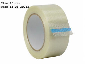 Wod Fil 795 Fiberglass Filament Strapping Tape 2 In Wide X 60 Yds 24 rolls