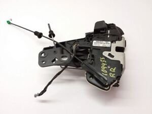 2007 2014 Ford Edge Right Rear Door Latch Power Lock Actuator Switch Motor