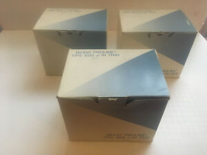 Biohit Proline Tips 1000 Ul Pipette Tips In Tray 384 per Box Lot Of 3 Boxes