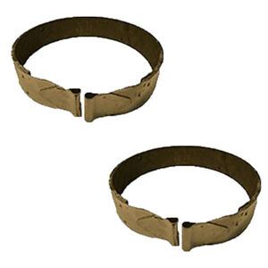 Two Brake Bands With Lining For Farmall Ihc H Hv I4 O4 W4