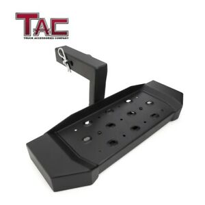 Hitch Step Universal Fit 2 Rear Receivers With 6 Drop Lock Pin Hitch Tightener