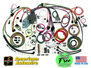 19 64 65 66 67 Chevy Chevelle Complete Wiring Harness American Autowire 500981