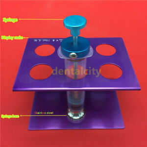 Autoclavable Syringe Display Racks Liposuction Aspirator Kit Fat Transfer Tools