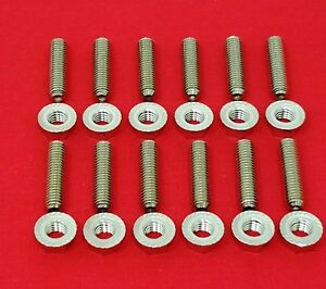Bbm Big Block Mopar 383 426 Rb 440 Wedge Stainless Steel Header Stud Bolt Kit
