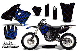 Graphics Kit Decal Wrap + # Plates For Yamaha YZ 250F400F426F 98-02 RELOAD U K
