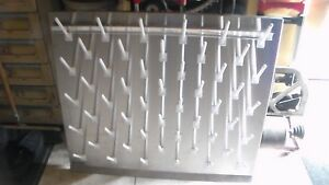 Inter Dyne Systems Pegboard Barron b B3630 Drying Rack 304 Ss With 50 Pegs
